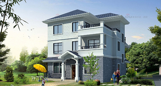 农村建房贷款,农村建房本,建房设计图,经济型别墅,农村建房设计