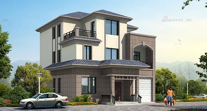 自建房10万以下两层_8米x12米农村自建房设计图图片